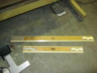 Bruning No. 2707 Neoglide Drafting Machine & 42 x 32 Adjustable