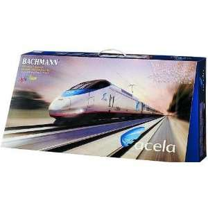 Spectrum Acela Express Amtrak Train Set Bachmann Toys