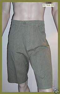 Mens Planet Earth Heath Short NWT Size 34 Green $54