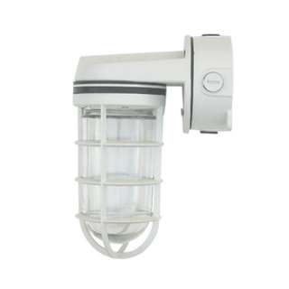Guarded hazard outdoor wall light fixture / OT3009 WD