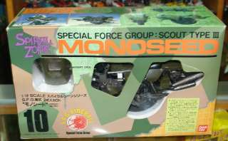 BANDAI 1986 SPIRAL ZONE   Special Force Group