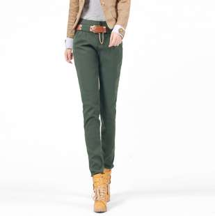 Women High Quality Skinny Slim Pants Casual 4Colors 5Size OL Warm