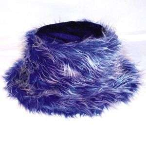 FUZZY HATS wild crazy novelty carnival fur funny hat
