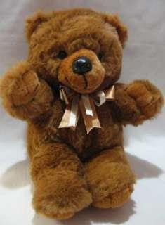 Cuddle Wit Brown Teddy Bear 15 Plush Toy 1992