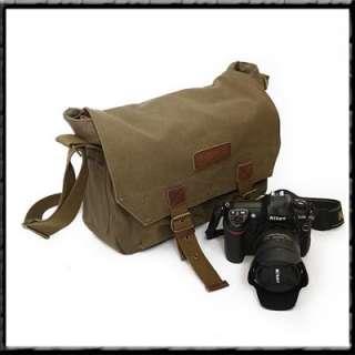 Canvas Camera Laptop Shoulder Bags   Canon EOS SLR DSLR