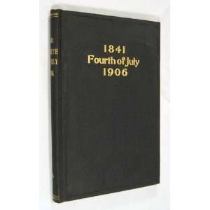 , 1906, at 2 Oclock, P.M. Pierce County Pioneer Association Books