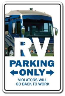 RV Sign recreational vehicle motor home camper gift travel retirement