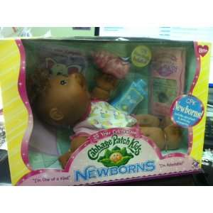 Patch Kids Newborns African American Baby Doll 2008: Toys & Games