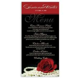 265 Wedding Menu Cards   Material Girl Office Products