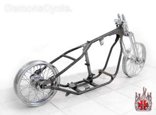 PAUGHCO ROLLING CHASSIS BOBBER FRAME FITS HARLEY ENGINE