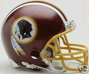 WASHINGTON REDSKINS NFL RIDDELL REPLICA MINI HELMET