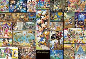 Tenyo Japan Jigsaw Puzzle DG 2000 533 Disney Mickey Mouse Art (2000