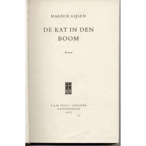 De Kat In Den Boom. MARNIX. GIJSEN Books