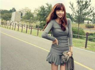 Japan style Ruffled lace sweet ladies dress(4 color)