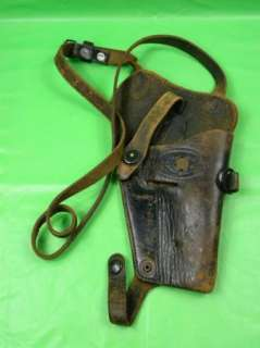 WW2 US Army Colt Leather Shoulder Holster