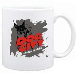 New  Dog City  Toy Fox Terrier  Mug Dog