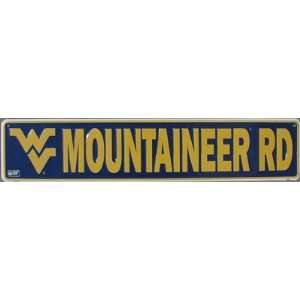 West Virginia Mountaineers Metal Street Sign *SALE