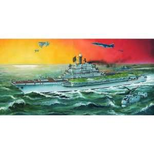Scale Models 1/700 USSR Minsk Aircraft Carrier Kit Toys & Games