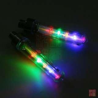 2x Bike Bicycle 5 LED 8 Flashing Tire Wheel Spoke Light Lamp car