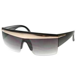 Celebrity Music Video Half Frame Designer Style Sunglasses 8028 NEW