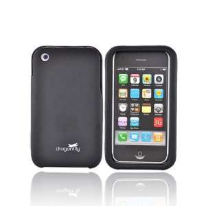 OEM Dragonfly iPhone 3Gs Craft Texture Hard Case BLACK