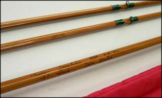 PPP Pezon et Michel split cane fly fishing rod bamboo for silk line