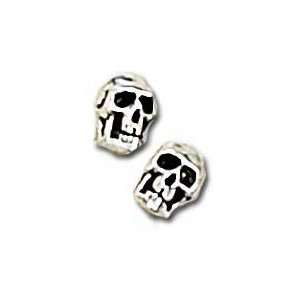 Death studs (pair) Alchemy Gothic Earrings Jewelry