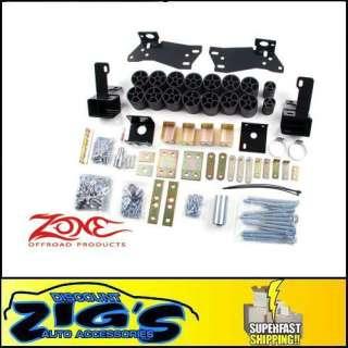 Zone Offroad 3 Body Lift Kit 03 05 Silverado/Sierra