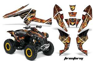 GRAPHIC STICKER KIT OFF ROAD QUAD DECAL WRAP CANAM RENEGADE FSK