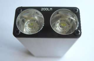 continuous light time full power 6 9 hours weight 118g size 110 x 45 x