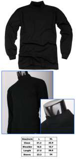 Half Turtle neck T shirts Basic Casual Long Sleeve Jobs Style
