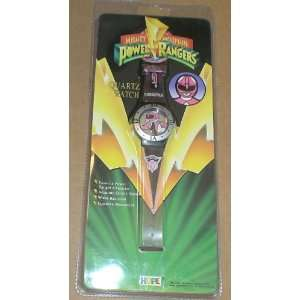 Mighty Morphin Power Rangers Pink Ranger Watch Everything