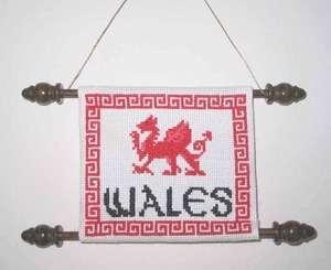 Celtic Obsessions Welsh Dragon Cross Stitch Pattern