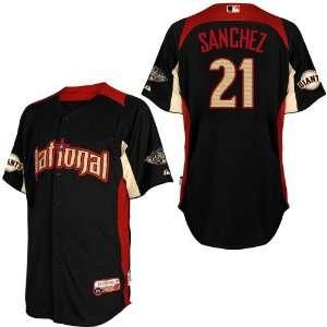 2011 All Star San Francisco Giants 21# Sanchez Blue 2011