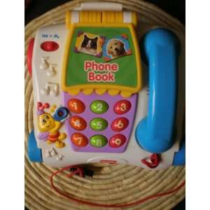 Fisher Price Talking Animal Pull Toy Phone Everything Else