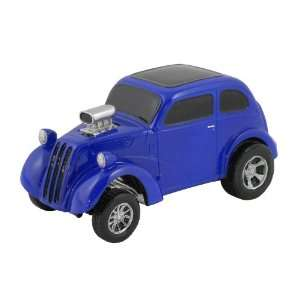 GASSER, BLUE, COLLECTIBLE 118 SCALE MODEL, HOT ROD, STREET ROD, DRAG
