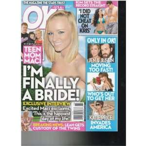 OK Usa Magazine (Teen Mom Maci Im Finally a Bride, June