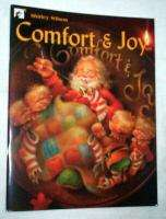 SHIRLEY WILSON COMFORT & JOY PAINT BOOK  BRAND NEW!
