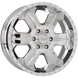 American Racing Fuel 16x8 Chrome Wheel / Rim 6x5.5 with a 12mm Offset
