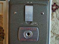 Polaroid Land Camera Model 80A w/ Flash Carrying Case & Accessories