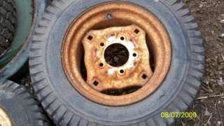 Toro Wheel horse rear tire parts wheelhorse