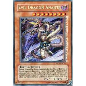 Evil Dragon Ananta PP02 EN017 Secret Rare: Toys & Games