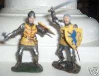 Britains Toy Soldiers Knights Agincourt French Foot