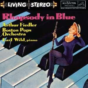 Fiedler George Gershwin, Arthur Fiedler, Boston Pops Orchestra, Earl