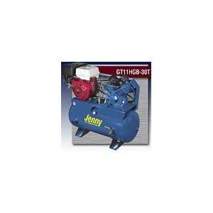 Jenny Service Vehicle Air Compressors Two Stage Pump GT, 5HP, Drive