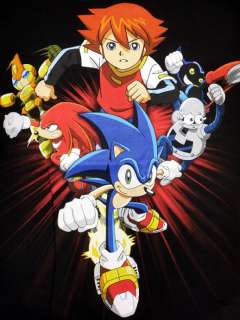 Genesis Sonic The Hedgehog Sonic X Chris Knuckles Video Game L