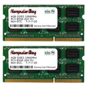 PC3 8500 (7 7 7 20) Laptop Notebook Memory for Apple iMac Electronics