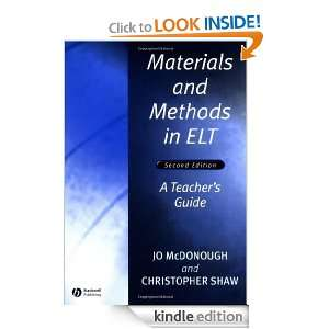 Materials and Methods in ELT: A Teachers Guide (Applied Language