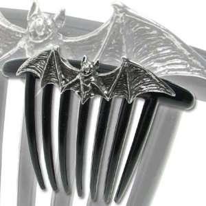 Om Strygia Balkan Vampire Bat Hair Comb: Home & Kitchen