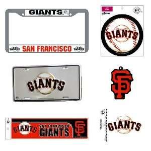 San Francisco Giants MLB Car Combo Pack